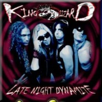 [King Lizard Late Night Dynamite Album Cover]
