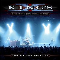[King's X Live All Over The Place Album Cover]