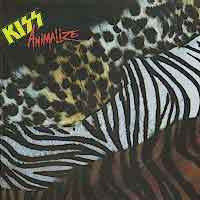 KISS Animalize Album Cover