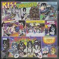 KISS Unmasked Album Cover