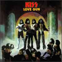 [KISS Love Gun Album Cover]
