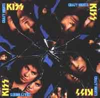 [KISS Crazy Nights Album Cover]