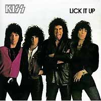 [KISS Lick it Up Album Cover]