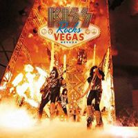 [KISS Kiss Rocks Vegas Album Cover]