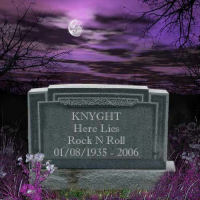 Knyght Here Lies Rock N Roll  Album Cover
