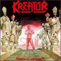 Kreator Terrible Certainty Album Cover