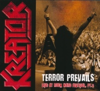 Kreator Terror Prevails Live at Rock Hard Festival, Pt. 2 Album Cover
