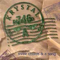[Krystal Three Chords and A Song Album Cover]