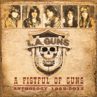 [L.A. Guns A Fistful of Guns Anthology 1985-2012 Album Cover]
