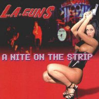 L.A. Guns Live! A Nite On The Strip Album Cover