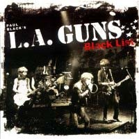 [L.A. Guns Black List Album Cover]