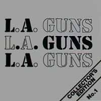 [L.A. Guns Collector's Edition No. 1 Album Cover]