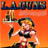 [L.A. Guns Hollywood A Go Go Album Cover]