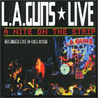 [L.A. Guns Live! A Nite On The Strip Album Cover]