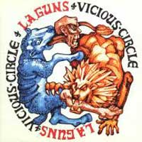 L.A. Guns Vicious Circle Album Cover