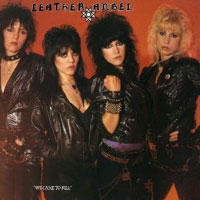 [Leather Angel We Came to Kill Album Cover]