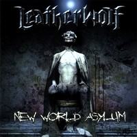 [Leatherwolf New World Asylum Album Cover]