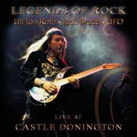 [Uli Jon Roth Legends of Rock - Live At Castle Donington Album Cover]