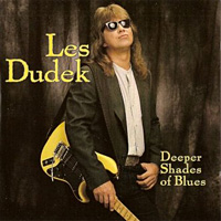 [Les Dudek Deeper Shades of Blues Album Cover]