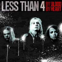 [Less Than 4 By Blood By Heart Album Cover]