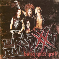 [Lipstixx 'N' Bulletz Bang Your Head Album Cover]