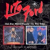 [Lita Ford Out for Blood / Dancin' on the Edge Album Cover]