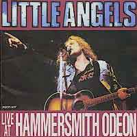[Little Angels Live at the Hammersmith Odeon Album Cover]