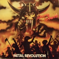 [Living Death Metal Revolution Album Cover]