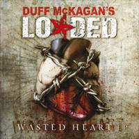 [Duff Mckagan's Loaded Wasted Heart EP Album Cover]