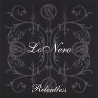 [Lonero Relentless Album Cover]