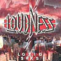 [Loudness Lightning Strikes Album Cover]