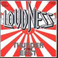 [Loudness Thunder In The East Album Cover]