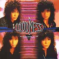 [Loudness Hurricane Eyes - Japanese Version Album Cover]