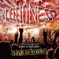 [Loudness Loudness World Tour 2018 - Rise To Glory - Live In Tokyo Album Cover]