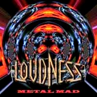 [Loudness Metal Mad Album Cover]