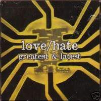 [Love/Hate Greatest and Latest Album Cover]