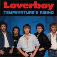 [Loverboy Temperature's Rising Album Cover]