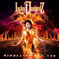 [Lucky Bastardz Alwayz On The Run Album Cover]