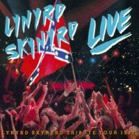 [Lynyrd Skynyrd Southern By the Grace of God - Tribute Tour 1987 Album Cover]
