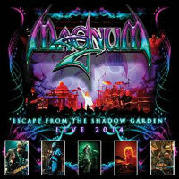 [Magnum Escape From The Shadow Garden - Live 2014 Album Cover]