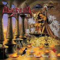 [Magnum Sacred Blood Divine Lies Album Cover]