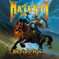 [Majesty Thunder Rider Album Cover]