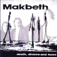 [Makbeth Death, Divorce And Taxes Album Cover]