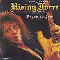 [Yngwie Malmsteen Marching Out Album Cover]