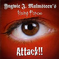 [Yngwie Malmsteen Attack!! Album Cover]