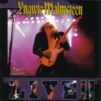 [Yngwie Malmsteen Live Album Cover]