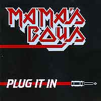 [Mama's Boys Plug it In Album Cover]