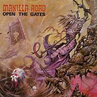 [Manilla Road Open the Gates Album Cover]