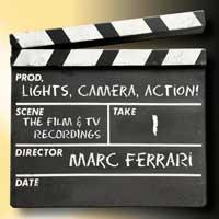 [Marc Ferrari Lights! Camera! Action! Album Cover]