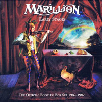[Marillion Early Stages: The Official Bootleg Box Set 1982-1987 Album Cover]